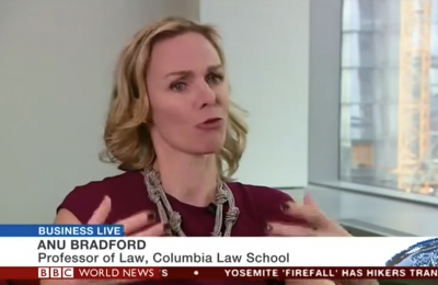 Anu Bradford on BBC